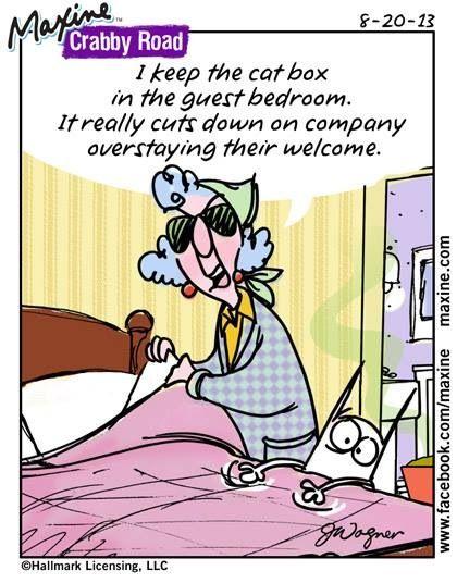 Maxine - Crabby Road cartoon