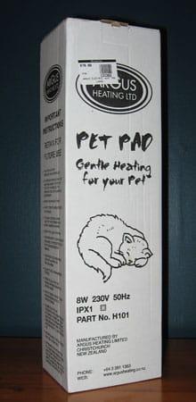 Argus pet heating pad
